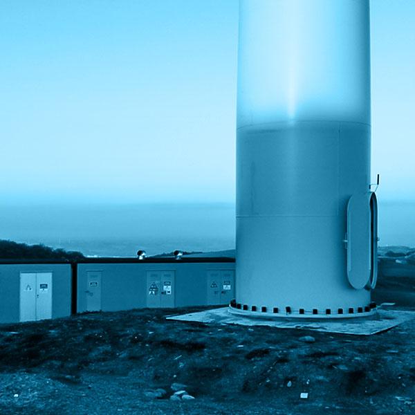 Pala eolica - base