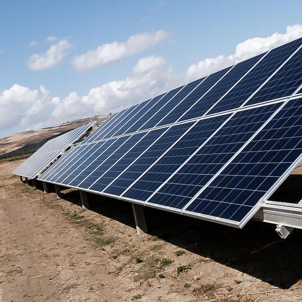 Pannelli fotovoltaici - dettaglio